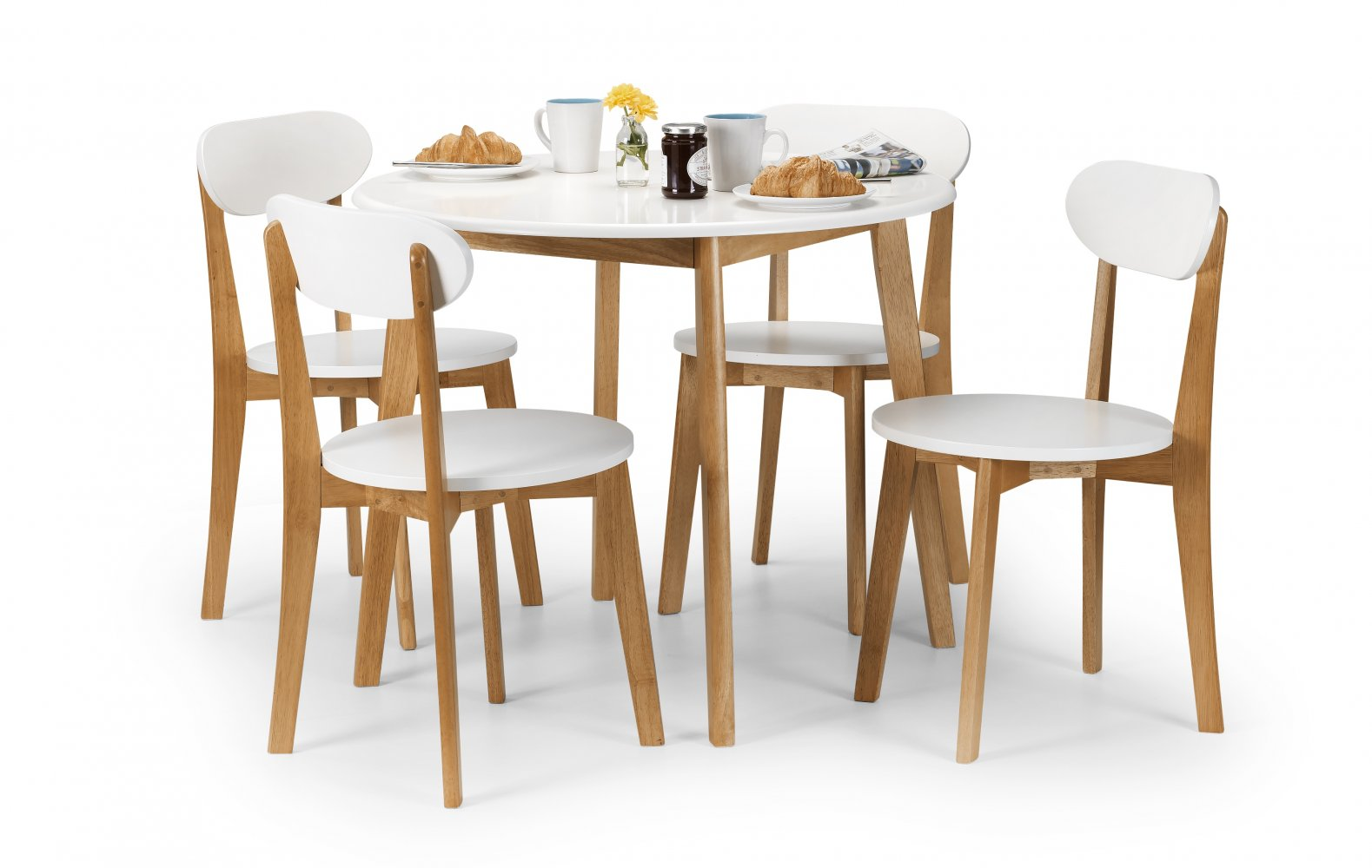 Ashley\'s Trade Carpet Centre: - Tiffany Dining Table and 4 Chairs