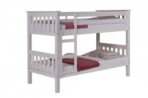 Barcelona Bunk Bed 2ft6 White