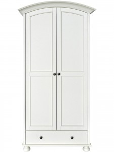 Versailles 2 Door 1 Drawer Wardrobe
