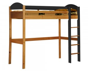 Maximus High Sleeper Antique With Graphite Details