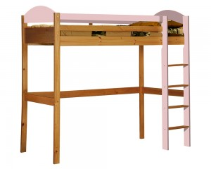 Maximus High Sleeper Antique With Pink Details