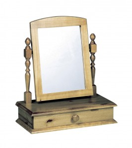 Dressing Table Antique Mirror With Drawer
