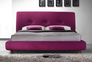 Sache Ruby Pink Double Bed