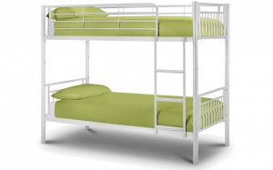 Atlas Bunk Bed - Gloss White