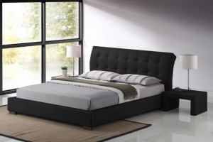 Boston Leather Double Bed