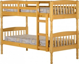 Albany 3 foot Bunk Bed in Antique Pine